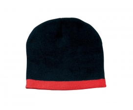 Two Tone Roll Down Beanie