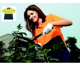 Hi-Vis Ladies Safety Polo