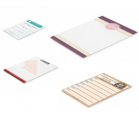 A7 Printed Note Pads