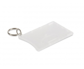 Card Holder Key Ring - Single