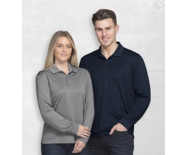 Long Sleeve Axis Polo