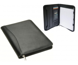 Windsor A4 Zip Portfolio with Calculator